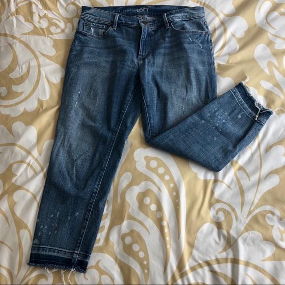 01a792f2c8ff8 LOFT Jeans | Relaxed Skinny Crop | Poshmark